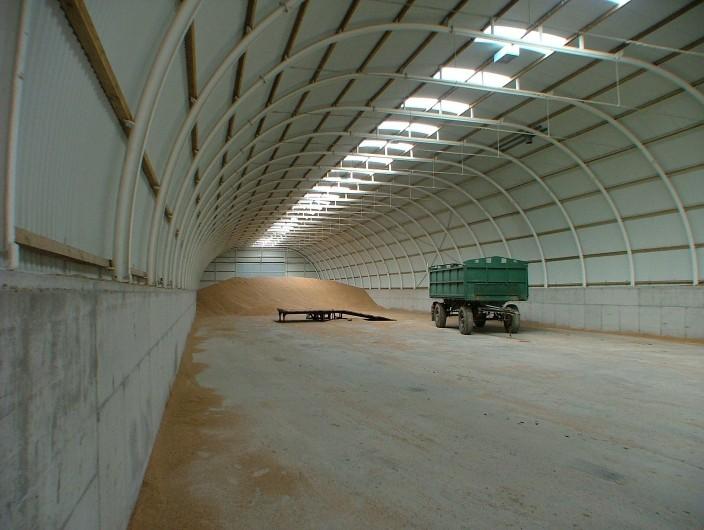 løsninger for lagre til landbrug