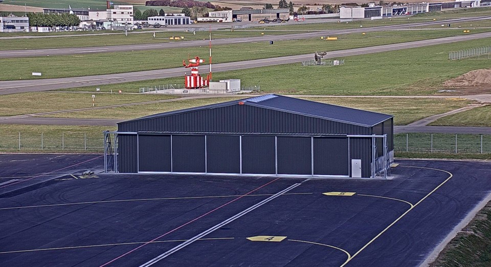 hangarer i stål for luftfartøjer