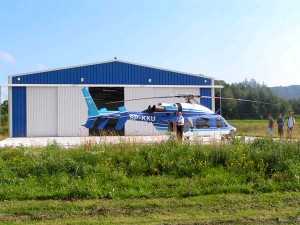 billige hangarer for helikoptere