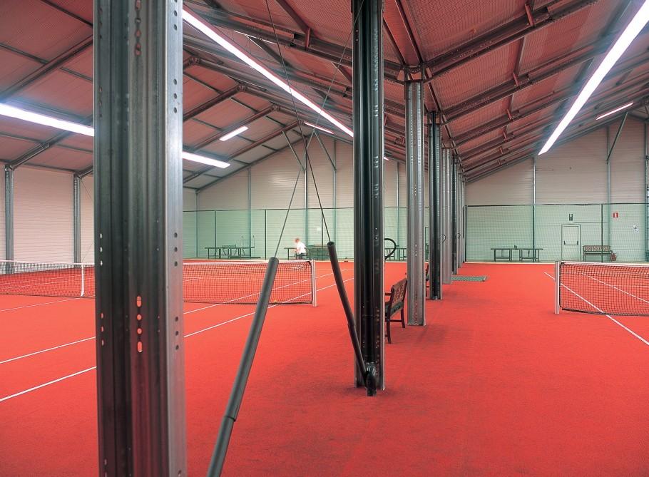 løsninger for tennisbaner