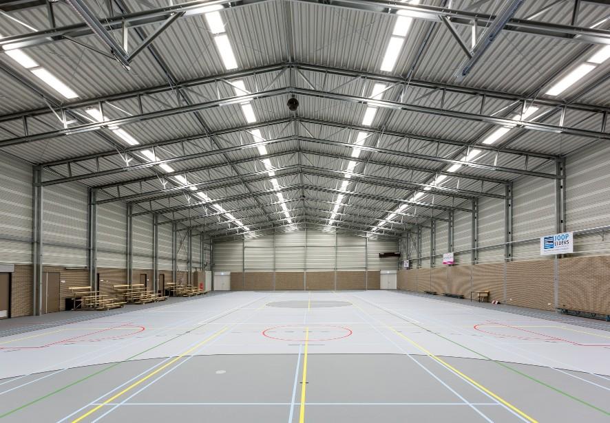 sportshaller i stål