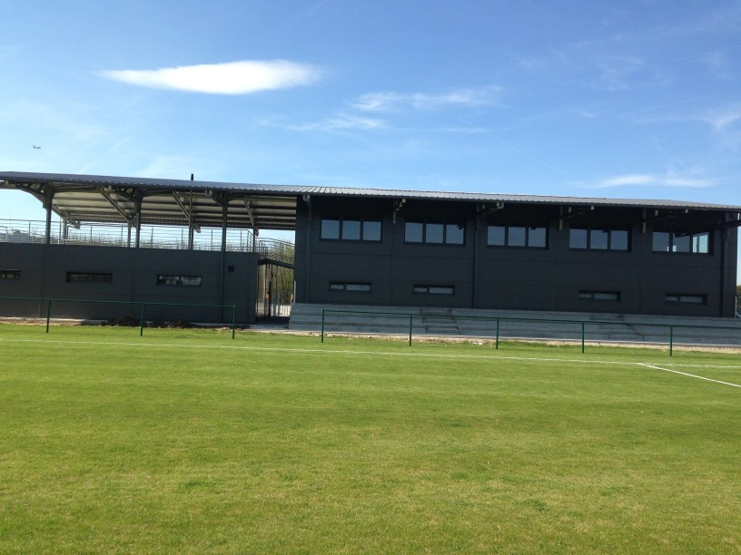 tilpassede sportshaller